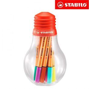 CAN.STABILO 88 MINI COLORFUL 12X1 IDEAS